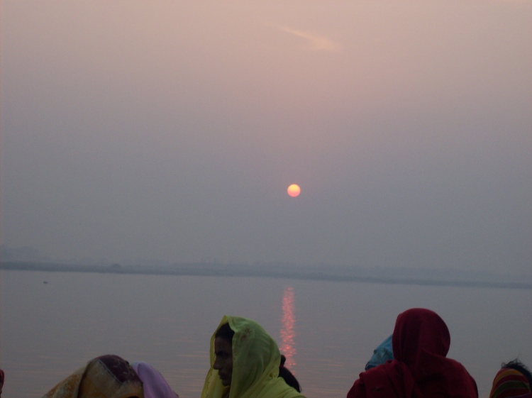 The sun is really wonderful during Chhath